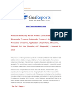 Pressure Monitoring Market Product