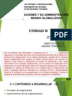 Tema 2.1 Las Organizaciones