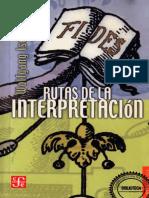 Iser Rutas de La Interpretación (1)