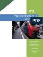 TALLER de Calcule n 3