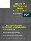 Political and Legal Environment impact on Indian Business