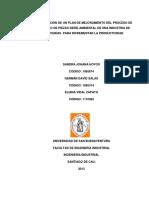 Implementación Carrocerías Productividad Hoyos 2013.