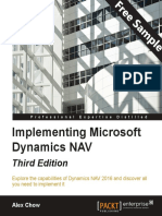 Implementing Microsoft Dynamics NAV - Third Edition - Sample Chapter