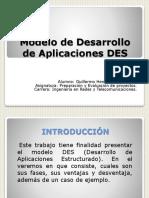 Modelo de Desarrollo de Aplicaciones DES