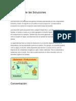 quimica de las soluciones