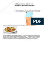 Dieta del minestrone|Dimagrire con la dieta del minestrone|Come funziona la dieta del minestrone