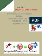 Las 3E (Eficiencia, Eficacia y Efectividad)
