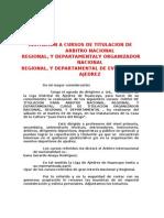 CURSO DE TITULACION