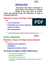 Steel-DOS-Bridge Lec 1 & 2