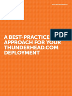 Thunderhead Centers of Excellence White Paper