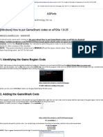 [Windows] How to Put GameShark Codes on EPSXe 1.9