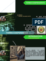 FARMACO DEPENDIENTE EXPOSICION