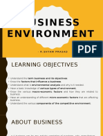 Chapter 1 Business Environment