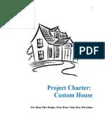 project charter-custom home  1  copy