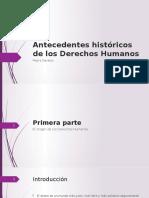 Antecedentes Historicos de Los Derechos Humanos