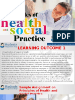 Principles of Health and Social Practice
