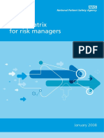 Risk Matrix for Risk Managers