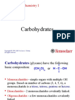 Carbohydrate(1) Presentasi Kimia Bahan Pangan