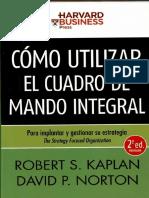 Como Utilizar el Cuadro de mando Intergral.pdf