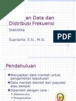 Pertemuan 4 Penyajian Data Dan Distribusi Frekuensi Lanjutan