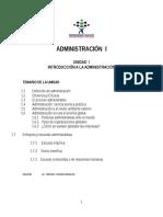 Tema i La Administración