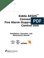 Kidde Aegis Manual