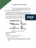 Design of Weldments