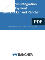 Continuous Integration and Deployment With Rancher and Docker