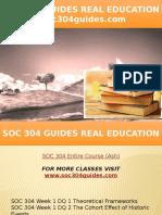 SOC 304 GUIDES Real Education - Soc304guides.com