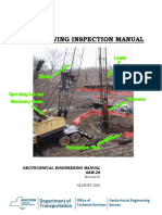 PILE DRIVING INSPECTION MANUAL