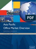 Asia Pacific Regional Office Market Report Q1 2010