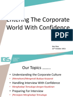 Entering the Corporate World With Confidence - Kuin - 25 Oct 2015