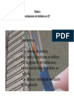 Tema 5Tema 5 Instalaciones Telefonía 1516 Instalaciones Telefonía 1516