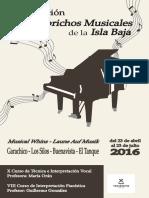 Revista Caprichos Musicales 2016