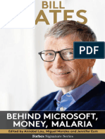 Bill Gates Behind Microsoft