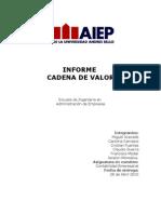 Informe Cadena de Valor