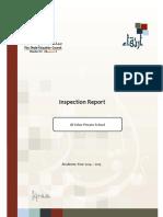 ADEC Al Yaher Private School 2014 2015