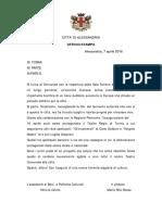 Cartella Stampa programma Teatro Comunale Alessandria riapertura Sala Ferrero