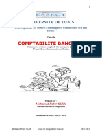 comptabilité bancaire
