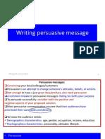 Persuasive Message