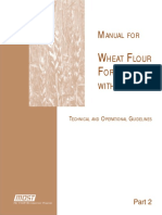 MANUAL for Wheat Flour Fortification - Technical Guidelines
