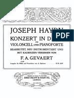 Prokofiev - Sonata for cello & piano