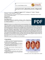 Case Report Placenta Previa  Clinical Medicine Research10.11648.j.cmr.20130201.11