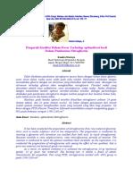 Pengaruh Kualitas Bahan Dasar terhadap Optimalisasi NG