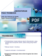 Pemeriksaan Laboratorium Pada Trombosis-dr.zelly