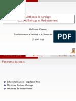 Méthodes de Sondage - Echantillonnage Et Redressement