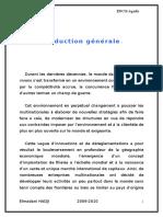 Service Contrôle de Gestion de La Direction Amendis Tanger