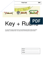 key final test 6
