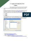 Chapter 3 - Logging, (Aqualogic Developer's Notebook)