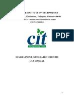 LIC Lab Manual1